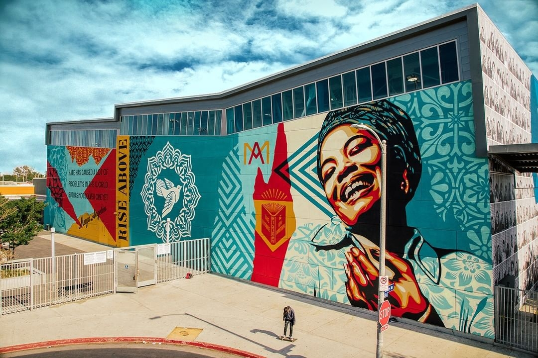 Obey Giant @Los Angeles, CA, USA