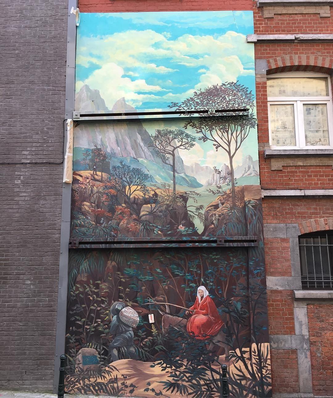 Piotr W. Osburne @Brussels, Belgium