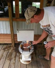Water barbecue