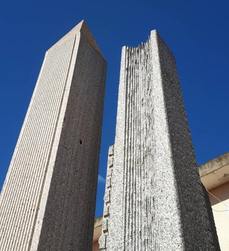 Festival Sant'Arte a San Sperate - I grattacieli di Pinuccio Sciola