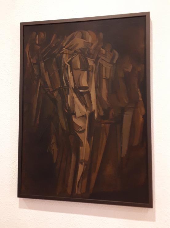 """""""Nu [esquisse], jeune homme triste dans un train"""" (1911-12) by Marcel Duchamp @ Collezione Peggy Guggenheim, Venezia"""