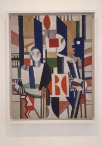 """""""Les Hommes dans la ville"""" (1919) by Fernand Léger @ Collezione Peggy Guggenheim, Venezia"""