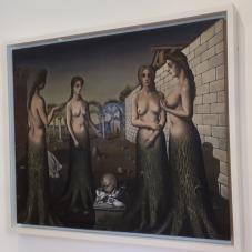 """""""L'Aurore"""" (1937) by Paul Delvaux @ Collezione Peggy Guggenheim, Venezia"""