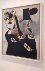 """Femme assise II"" (1939) by Joan Miró @ Collezione Peggy Guggenheim, Venezia"