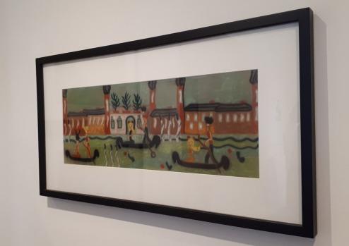 """""""Palazzo Venier dei Leoni"""" (anni 50) by Pegeen Vail @ Collezione Peggy Guggenheim, Venezia"""