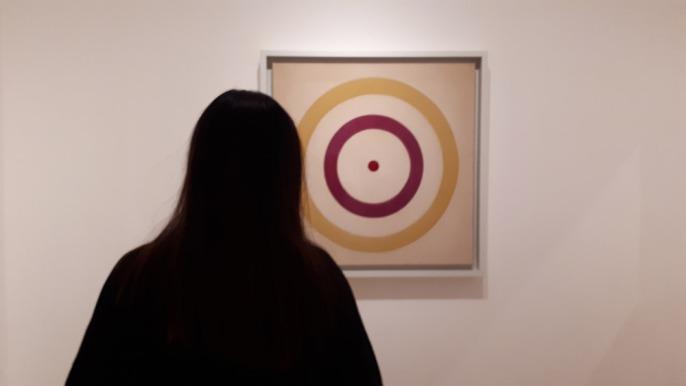 """Birth"" (1961) by Kenneth Noland @ Collezione Peggy Guggenheim, Venezia"