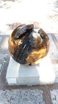 """Sphere No. 4"" (1926) by Arnaldo Pomodoro @ Collezione Peggy Guggenheim, Venezia"