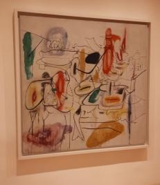 """Untitled"" (1944) by Arshile Gorky @ Collezione Peggy Guggenheim, Venezia"