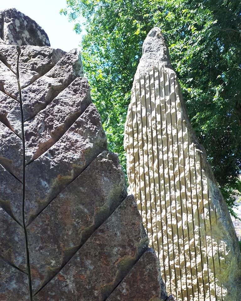 Festival Sant'Arte a San Sperate - Giardino Megalitico - Sculture di Pinuccio Sciola