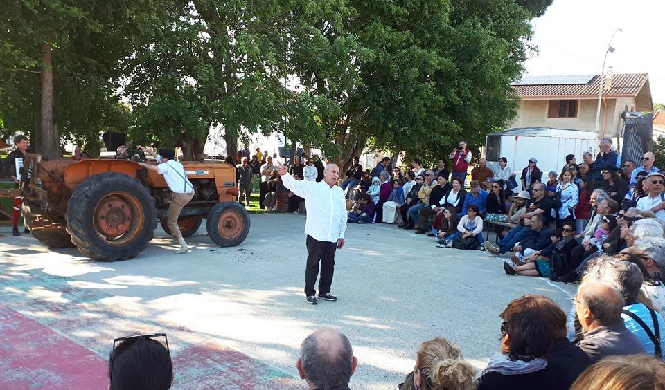 Festival Sant'Arte a San Sperate - Il baratto al Parco Megalitico