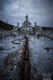 Atlantic Ghost Fleet al largo, in Francia