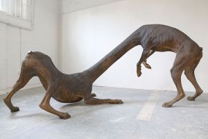Charles Avery (Untitled, 2013 - Bronze 165 x 300 x 145 cm) is included in the Summer Exhibition at the Royal Academy of Arts, London, which runs through until the 12th August