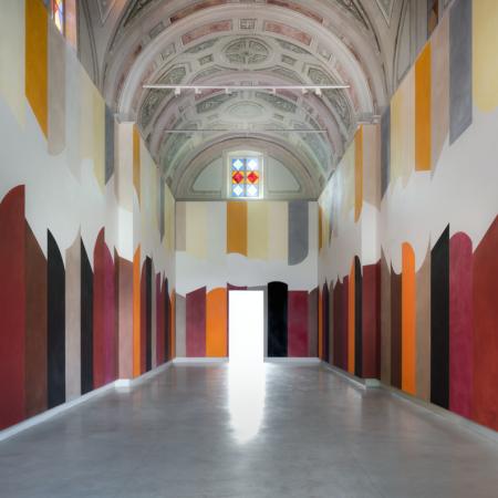 David Tremlett @ Cappella del Relais San Maurizio,Santo Stefano Belbo