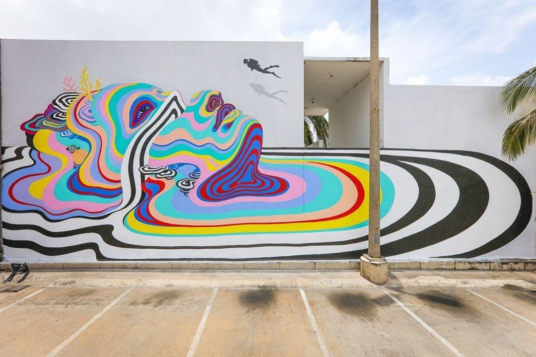 Gina Kiel @San Miguel de Cozumel, Mexico