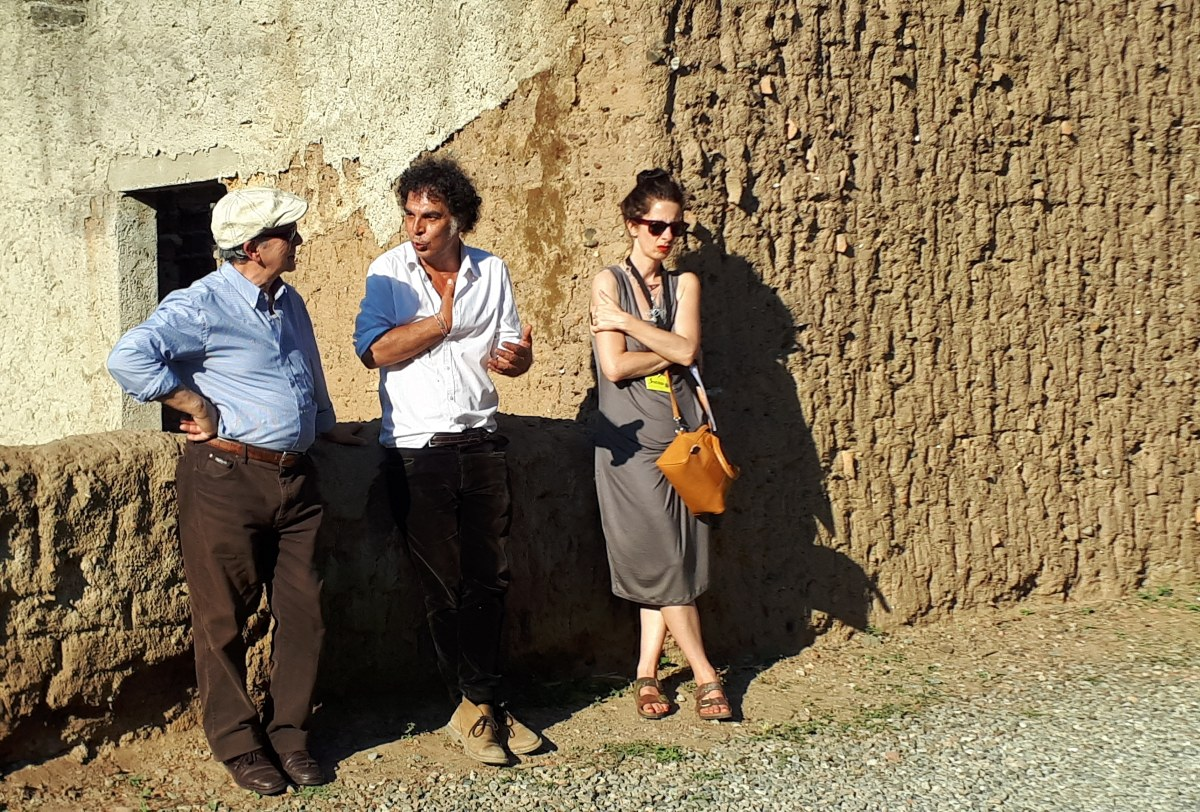 Festival Sant'Arte a San Sperate - Presentazione del murale partecipato per il progetto One Way di Leonardo Boscani e Rita Delogu
