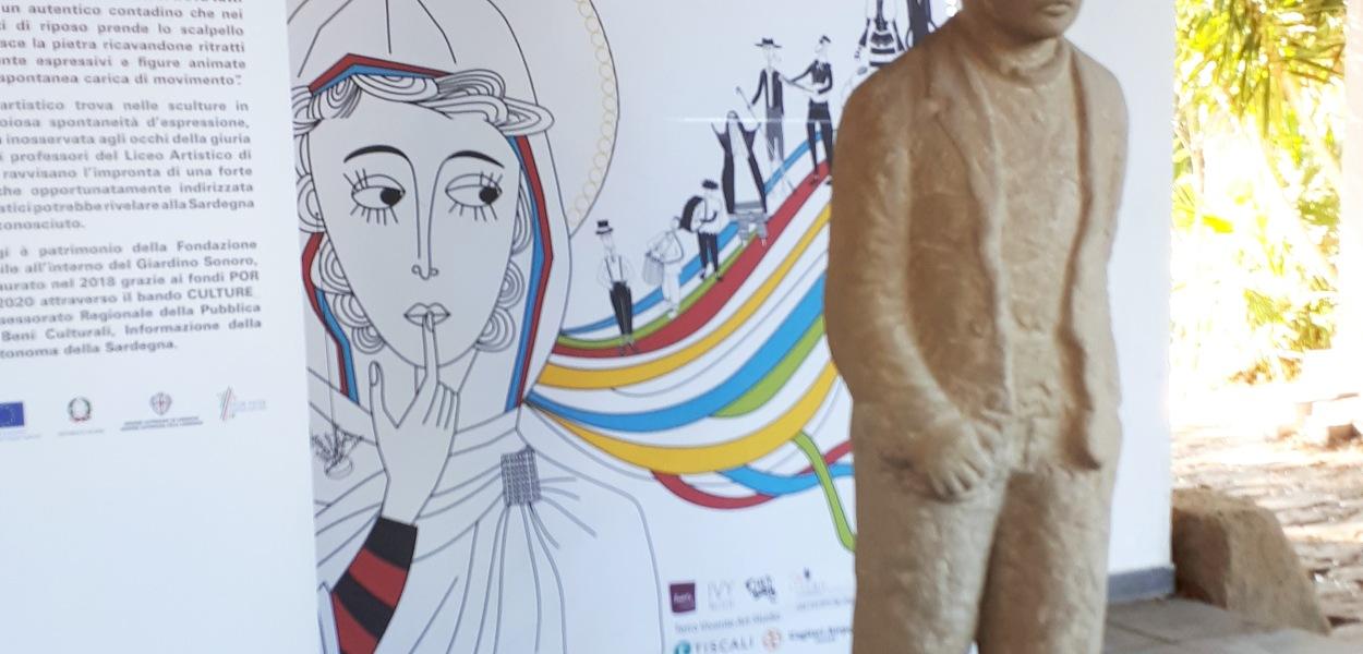 Festival Sant'Arte a San Sperate - Giardino Sonoro - Sculture di Pinuccio Sciola