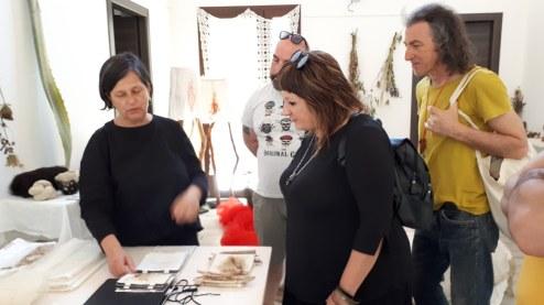 Festival Sant'Arte a San Sperate - Studio aperto di Pietrina Atzori