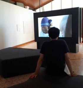 Video by Isuma (Zacharias Kunuk, Norman Cohn, Paul Apak, Pauloosie Qulitalik) @ Padiglione Canada