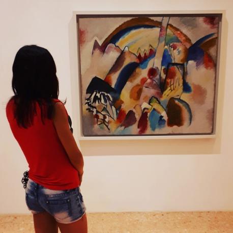 Wassily Kandinsky @ Collezione Peggy Guggenheim, Venezia