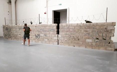 """""""Muro Ciudad Juarez"""" (2010) by Teresa Margolles"""