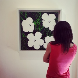 """Flowers"" (1928-87) by Andy Warhol @ Collezione Peggy Guggenheim, Venezia"