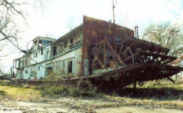 Mamie S. Barrett, usato da FDR per le ispezioni del fiume Mississippi