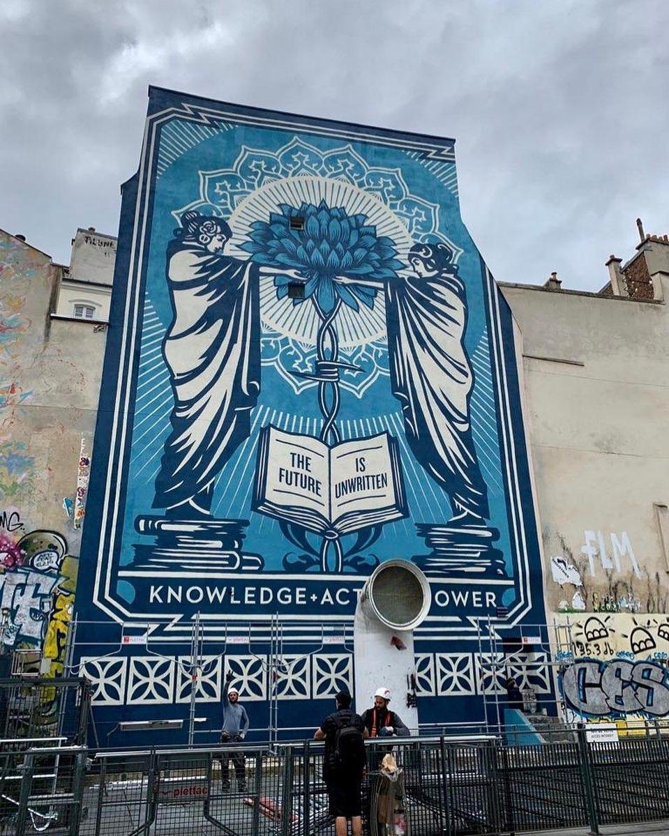Obey Giant @Paris, France