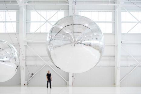 Trevor Paglen, Orbital Reflector (early prototype, 2017–19)
