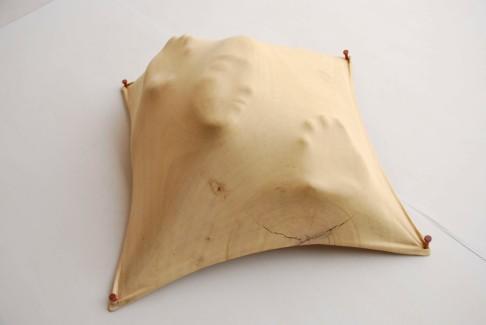 """Inner Turmoil"" (2009), 85 x 85 x 30cm byTung Ming-Chin"