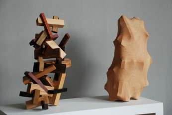 """""""Changes Inside the Forest"""" (2011), 100 x 40 x 120cm by Tung Ming-Chin"""