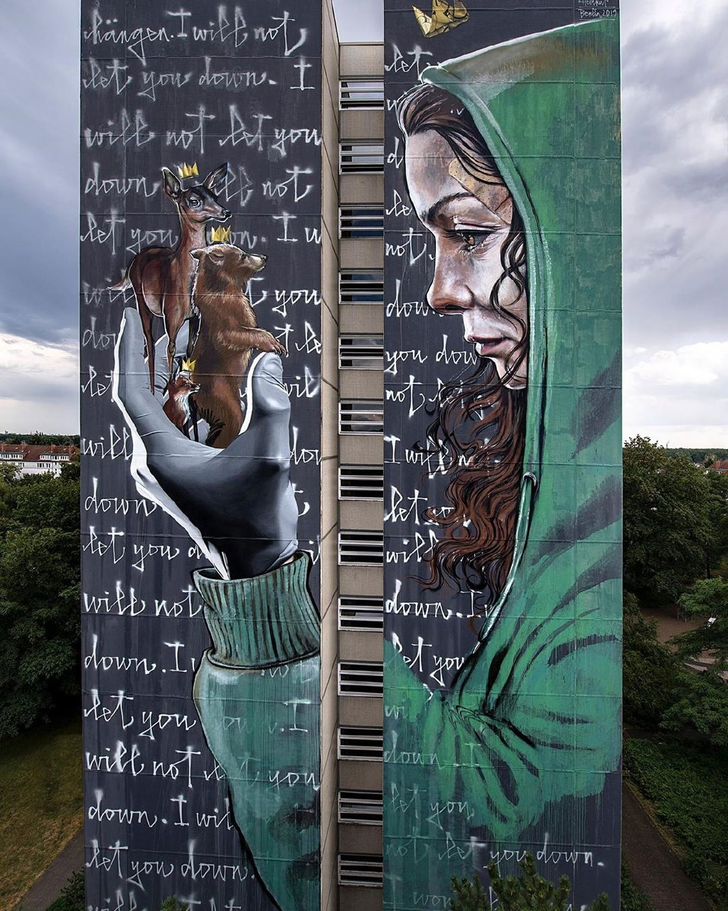 Herakut & Nuno Viegas @Berlin, Germany