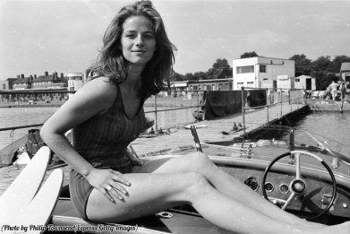 L'attrice e modella britannica Charlotte Rampling, 1965