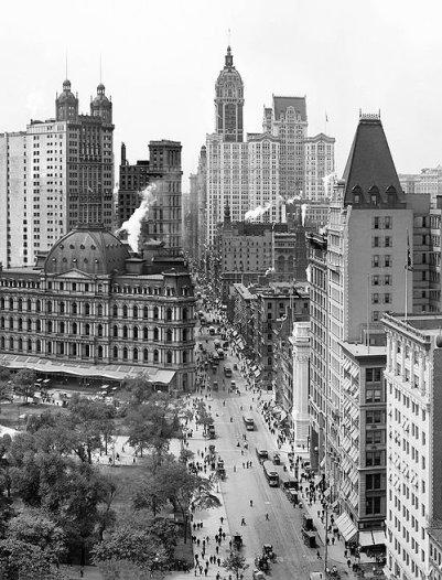 Manhattan circa 1908