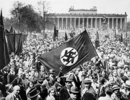 Manifestazione Anti NAZI a Berlino, 1932