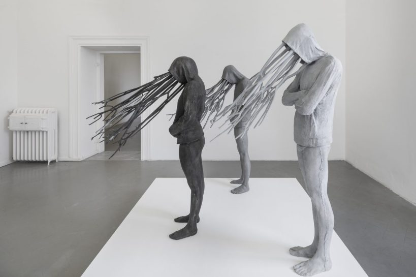 Paolo Grassino, Installation view at Eduardo Secci Contemporary, Florence, 2018. Courtesy the artist and Eduardo Secci Contemporary.