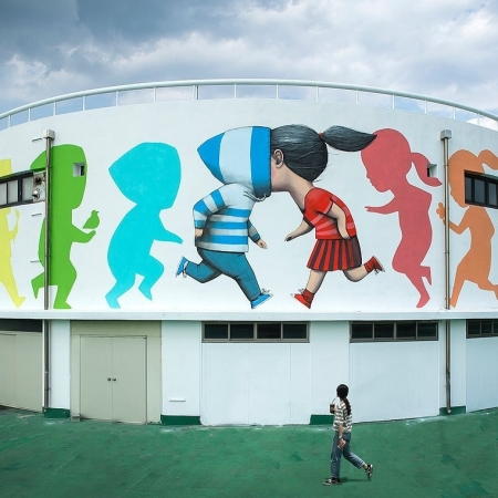 Seth Globepainter @ Gwangju, South Korea