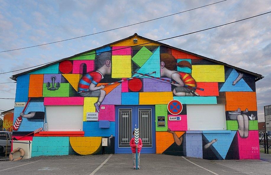 Seth Globepainter @Pont-L'Évêque, France