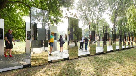 """Through the Lens of Faith"" by Daniel Libeskind @ Auschwitz"