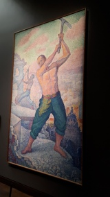 """Le Demolisseur"" by Paul Signac @ Musee D'Orsay, Paris"