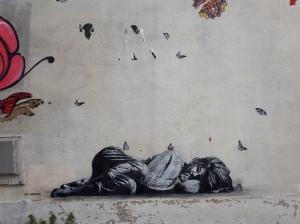Street art by Jef Aerosol