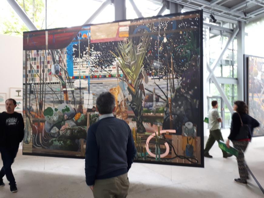 """""""Trabalho"""" by Alfonso Tostes @ """"Nous les arbres"""", Fondation Cartier, Paris"""