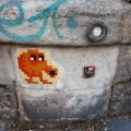 Street art in Oberkampf, Paris