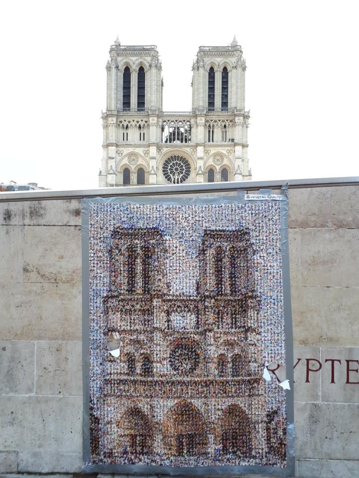 Facciata della Cattedrale di Notre Dame #universalhumanity