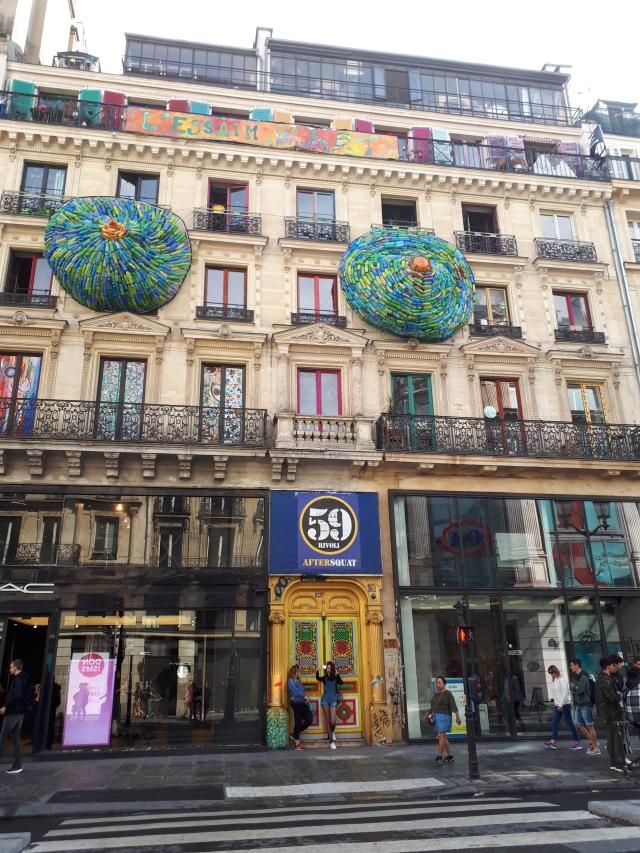 Paris day-by-day – Montmartre – Basket Pigalle – 59 Rivoli – Fluctuart (Day 9)