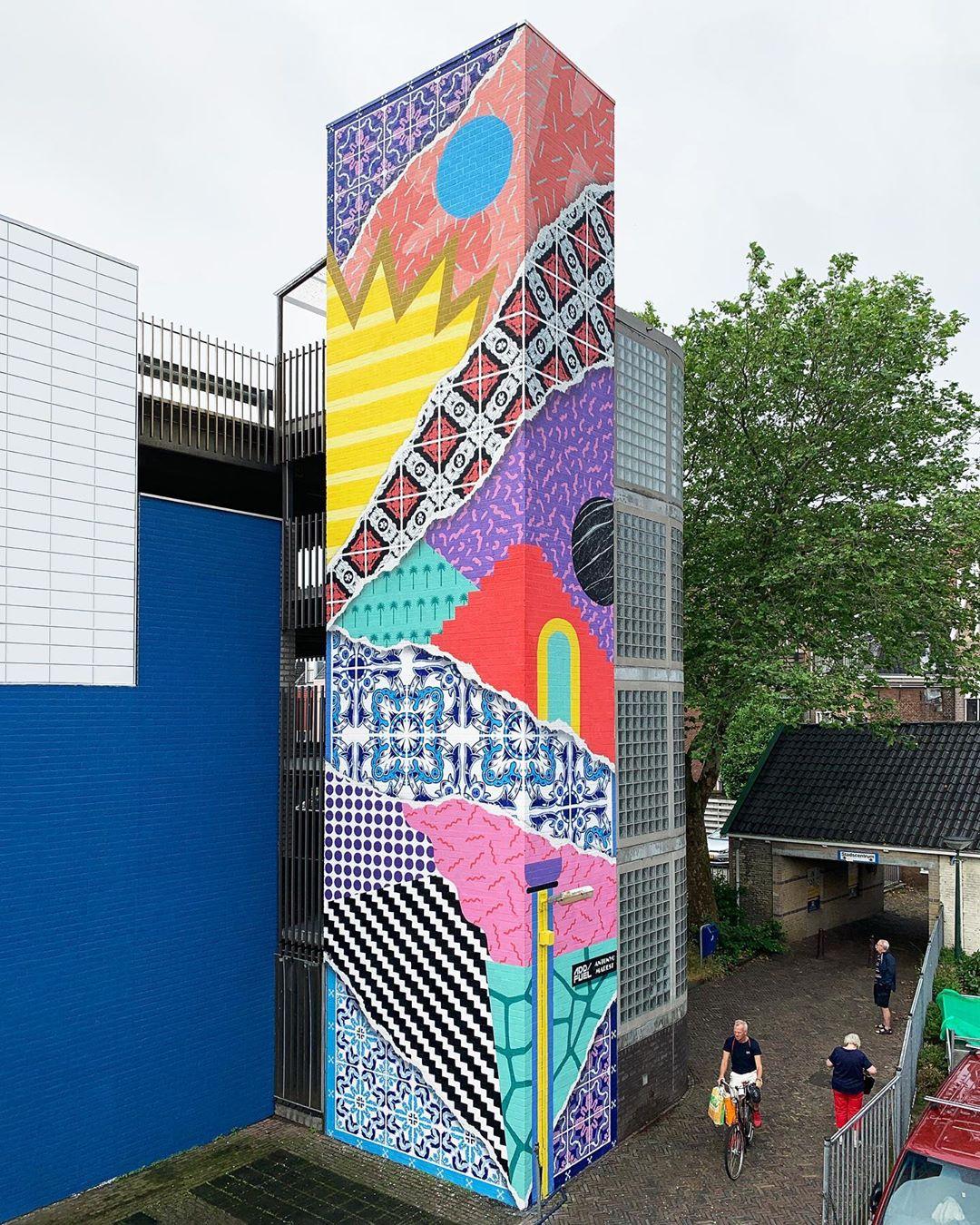 Streetart – Add Fuel & Antonyo Marest @ Leeuwarden, Netherlands