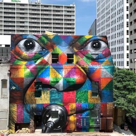 Eduardo Kobra @ New Orleans, USA