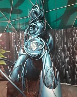 """3d street art by Rea One @ """"La Foret Escargot"""", Place de la Bataile de Stalingrad, Paris"""