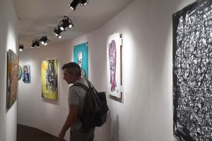 "Street artists exhibition @ ""La Foret Escargot"", Place de la Bataile de Stalingrad, #Paris"