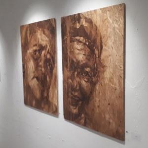 """Street artists exhibition @ """"La Foret Escargot"""", Place de la Bataile de Stalingrad, #Paris"""