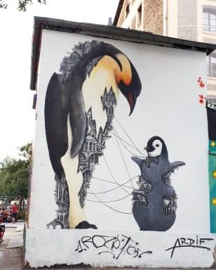 Street art by Ardif @ Quai de la Loire